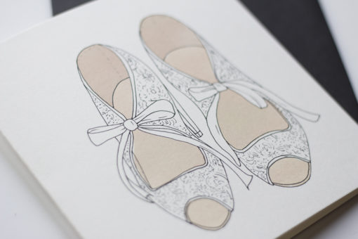 wedding-shoes-greeting-card-detail